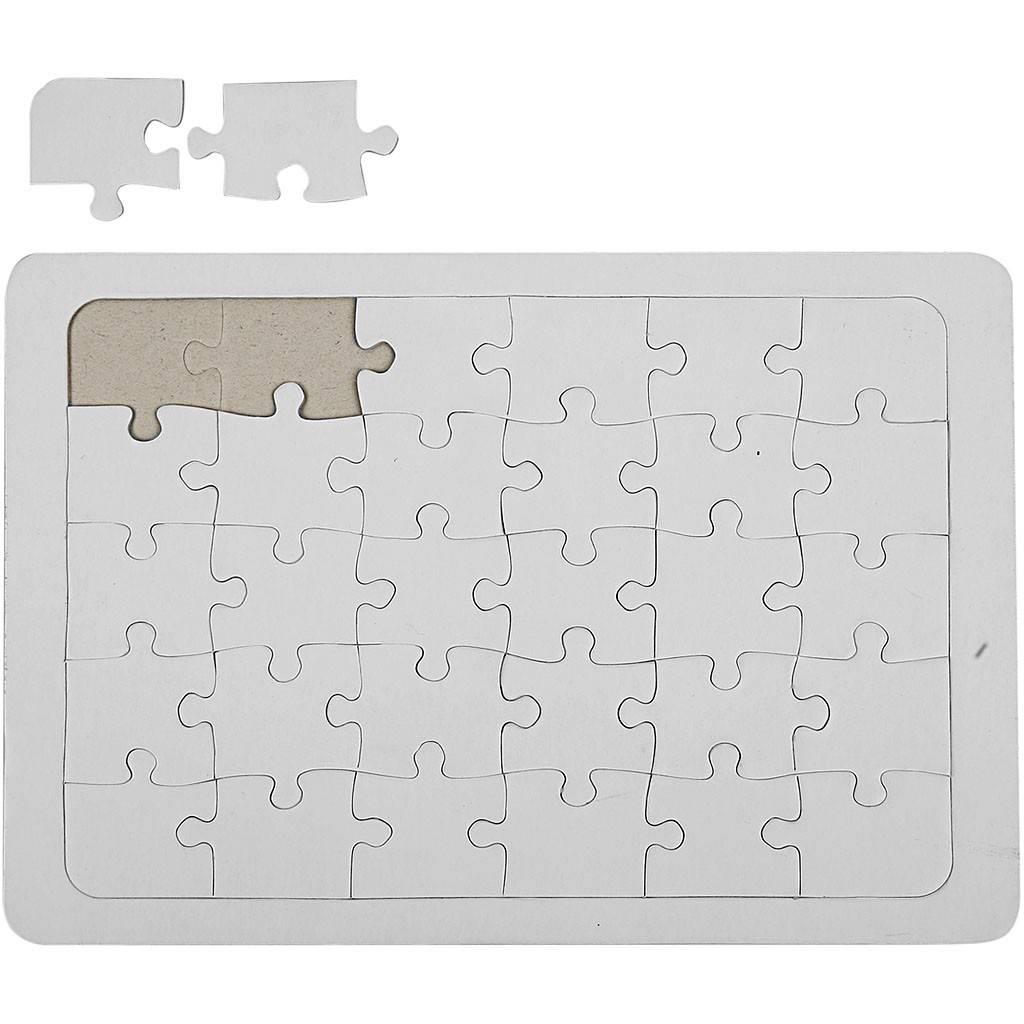 Kartonové Puzzle A4