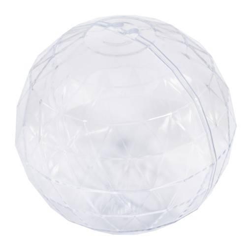 Koule plastová mnohostranná 8cm